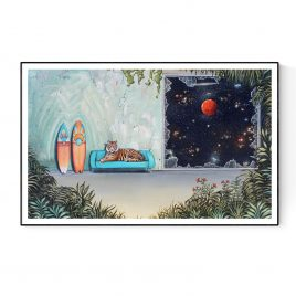 """""""Deep Wild Space"""" Paper and Canvas Prints"""