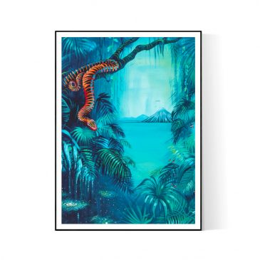 """""""Eternal Jungle"""" Paper and Canvas Prints"""