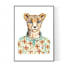 """""""Chee"""" Paper Print and Canvas Prints"""